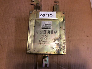 87 1987 Subaru XT Coupe 22611AA320 Engine Control Computer Module ECM w/o Turbo
