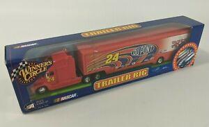 NASCAR Winners Circle Trailer Rig Transporter DuPont 200 Years 24 Jeff Gordon #2