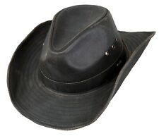 Outback Trading Men's Korona Polycotton UPF 50 Western Style Cowboy Hat - Brown