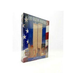 God Bless America September 11,2001 Jigsaw Puzzle 550 Pcs World Trade Center+Pin