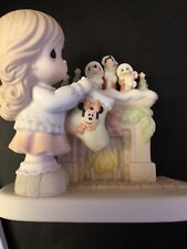 Precious Moments The Stockings Were Hung By The Chimney With Care 710037 Disney