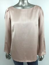 BANANA REPUBLIC Heritage Collection Women's Small Blush Pink Long Sleeve Blouse