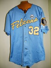 3d05b571f79 2008 MYRTLE BEACH PELICANS GAME USED JERSEY TOMMY HANSON