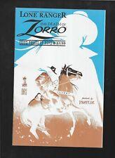 Lone Ranger Death of Zorro 3 2011 Francesco Francavilla Negative Effect Variant