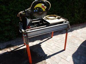 Masonry Tile Brick Wet Cutter Table Saw Belle Blade Elite 80 Nuova Battipav 110v