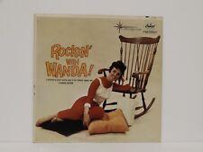 "WANDA JACKSON ""Rockin' With Wanda"" Original Press LP Capitol 1962"