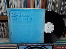 DEEP PURPLE - 24 Carat Purple KOREA LP. Blue Cover.