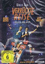 DVD - Bill & Teds verrückte Reise durch die Zeit - Keanu Reeves & Alex Winter