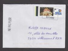 France -Lettre avec timbre personnalisé N° 3805A -Logo Les timbres personnalisés