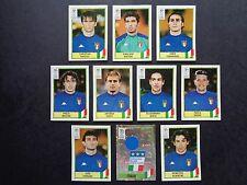 PANINI EURO 2000 Italie/Italia x 10 autocollants