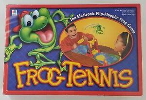 Frog Tennis Electronic Board Game 2002 Hasbro
