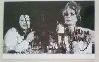 JOANNA LUMLEY OBE ABSOLUTELY FABULOUS SIGNED IN PERSON 3.5 x 5.5 Inch Photo COA