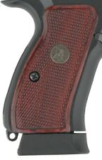 NEW Pachmayr Renegade Wood Grips fits CZ 75/85 Charcoal Silvertone or Rosewood