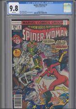 Spider-Woman #2 CGC 9.8 1978 Marvel Comics  Marv Wolfman Story