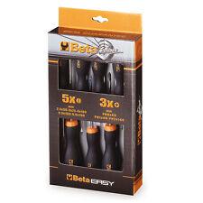Beta serie kit 8 giraviti cacciaviti fissi a croce bricolage fai da te 01203060