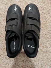 Euc Specialized Torch 1.0 Black Road Cycling Shoes Size 8 Us