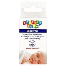 Snuffle Babe VAPORE petrolio-adatto dalla nascita-BABY respirare chiaramente