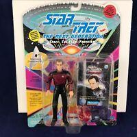 1993 Star Trek THE NEXT GENERATION Q action figure #6058 with Space Cap NIP