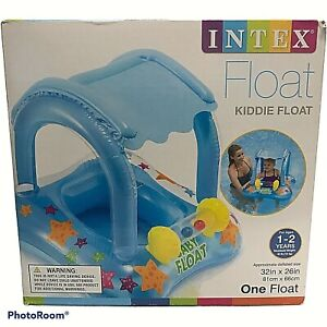Baby Pool Floats With Canopy Inflatable Floaties Shade For Toddler Babies Kiddie