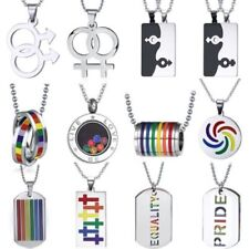 Charm Heart Stainless Steel Costume Necklaces & Pendants