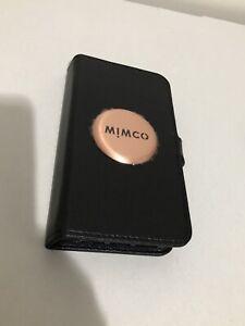 Genuine Mimco Mim Flip Case iPhone 6sP 6P 7P 8P BNWT Dust Bag