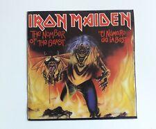 Iron Maiden El Número De La Bestia Single Spanish Press