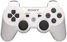 Official Sony PS3 PlayStation 3 Wireless Dualshock 3 Controller White Genuine VG