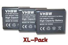 3x BATTERIA 950mAh PER Sony Cybershot DSC-W85 / DSC-W90 / DSC-W100