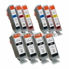 10+ PGI-5 CLI-8 PGI-5BK Printer Ink Cartridge Set Canon