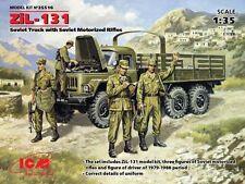 ICM 1/35 Soviet ZiL-131 Truck w/Soviet Motorized Rifles # 35516