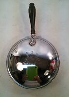 vtg Nasco Chrome Silent Butler Crumb Tray MAJOR AB ADVERSIS Greater from Crest