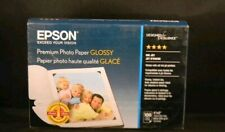 Epson Prem. * Photo Glossy Paper 4x6 (Almost 100 Loose Sheets no Box) S041727 *