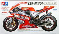 Tamiya 14100 Yamaha YZR-M1'04 No.7/No.33 1/12 scale kit