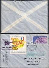 Andorra 1962 - Airmail cover ZR122 1rst rocket flight ... (G29957) MV-168
