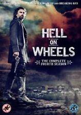 Hell on Wheels Complete Fourth Season Series 4 R2 DVD