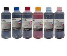 Ricarica Cartucce 6 Flaconi 500ml inchiostro Colori per Brother Cano Epson HP