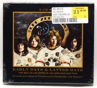 Early Days & Latter Days: The Best of Led Zeppelin, Vol 1 & 2 [Box] NEW 2-CD Set