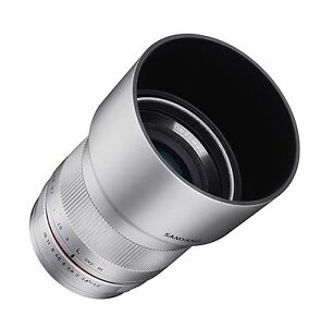 Rokinon 35mm F1.2 High Speed Wide Angle Lens for Fuji X - Silver - RK3512-FX-SIL