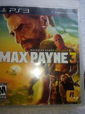 MAX PAYNE 3 (Playstation 3, 2012) PS3  Video Game CIB