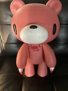 "2007 Gloomy Bear 16"" Jumbo Bloody Hard Plastic Figure Mori Chack Taito GP Og Box"