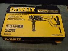 "NEW DEWALT D25262K ELECTRIC  ROTARY HAMMER DRILL KIT 1"" SDS PLUS 8 AMP 120 V"