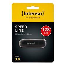 Intenso Speed Line 128GB USB Stick Highspeed USB 3.0 schwarz 128 GB 3533491