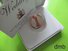 2011: 'Wedding of William & Catherine' SILVER PROOF £5: 5 Pound Coin.