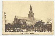 Postcard, M and L National Series, S.V.639, The Cathedral, Glasgow. 1925