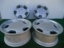 """SET OF (4) FACTORY MERCEDES D93 LORINSER STAGGERED FRONT 18""""X8 REAR 18""""X9 OEM"""
