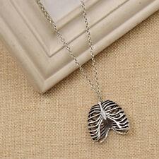 Gothic Punk Ribcage Necklace Chest Bone Pendant Chain Jewelry Vintage Unisex