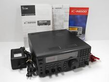 Icom IC-R8500 Ham Communications Receiver + Orig Manual, AD-55A Adapter SN 03564