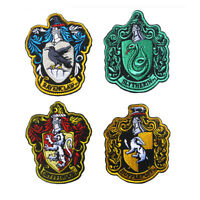 Harry Potter House of Gryffindor Crest Embroidered Iron On Sew On Patch Badge