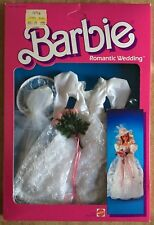 Barbie Mattel Romantic Wedding Fashions Outfit Sposa Vintage 86' RARO