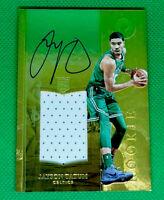 2017-18 Panini Opulence Jayson Tatum Rookie Patch Auto RPA /79 Celtics RC